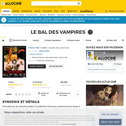 Le Bal des vampires - film 1967