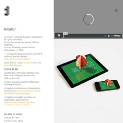 Le ballon et Safari en ballon + fichier à imprimer pour créer sa montgolfière en papier