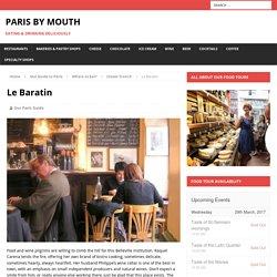 Le Baratin – Paris by Mouth