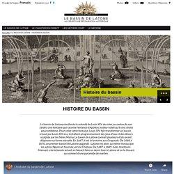 Le bassin de Latone > HISTOIRE DU BASSIN - Le bassin de Latone