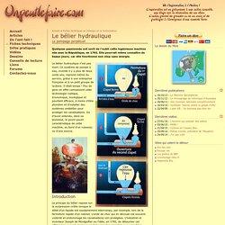 Fiche technique - Le bélier hydraulique : le pompage perpétuel