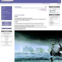 Le bestiaire - TolkienUniversite