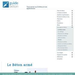 Le Béton armé - GuideBeton.com