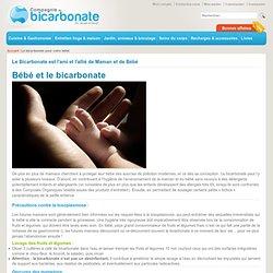 Le bicarbonate pour votre bébé