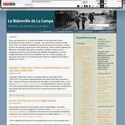 Le bidonville de La Campa