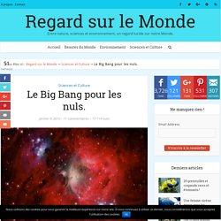 Le Big Bang pour les nuls.