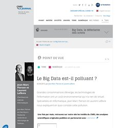 Le Big Data est-il polluant ?