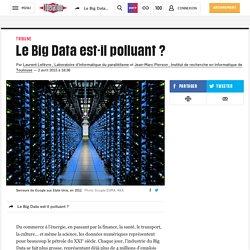 Le Big Data est-il polluant ?