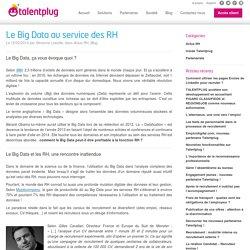 Le Big Data au service des RH
