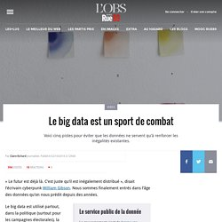 Le big data est un sport de combat