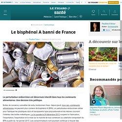 Le bisphénolA banni de France