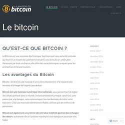 Le bitcoin – La Maison du Bitcoin