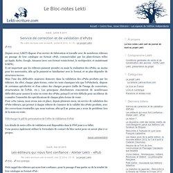 Le Bloc-notes Lekti