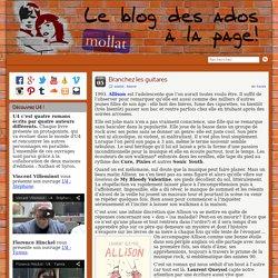 Le Blog Ados » Des ados à la page