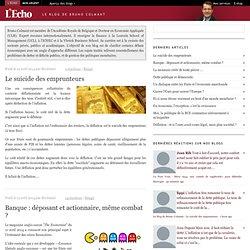 Le blog de Bruno Colmant