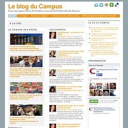 Le blog du campus de la CCIP