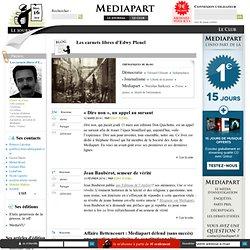Le blog de Edwy Plenel