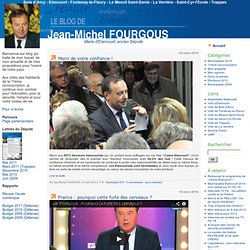 Le blog de Jean-Michel FOURGOUS