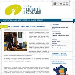 Le blog de la liberté scolaire