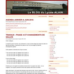 Le BLOG du Lycée ALAIN