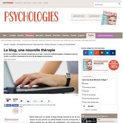 Le blog, une nouvelle thérapie