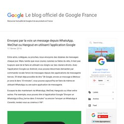 Le blog officiel de Google France