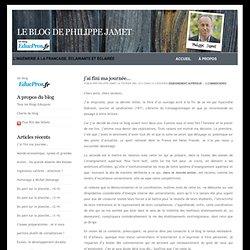 Le blog de Philippe Jamet
