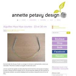 Annette Petavy Design – le blog / the blog