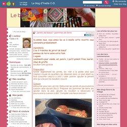 Le blog d'Yvette C-D. - Yvette C-D. -