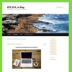 BTS STA, le Blog
