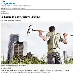 Le boom de l'agriculture urbaine
