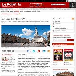 Le boom des villes TGV