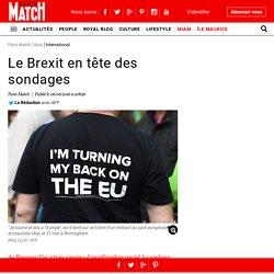 Le Brexit en tête des sondages