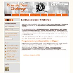 Le Brussels Beer Challenge