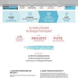 Le Budget Participatif ? - Budget Participatif - Paris