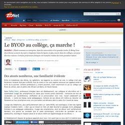 Le BYOD au collège, ça marche !