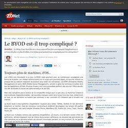 Le BYOD est-il trop compliqué ?