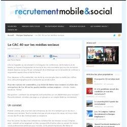 Le CAC 40 sur les médias sociaux