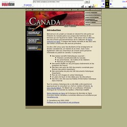 Le Canada en devenir