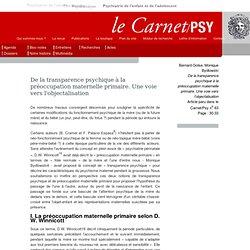 Le Carnet/Psy