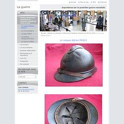 Le casque Adrian M1915
