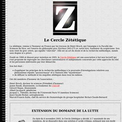 Le Cercle zetetique