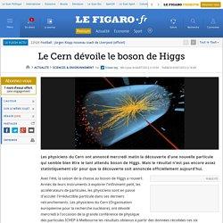 Sciences : La traque du boson de Higgs pourrait toucher à sa fin