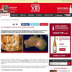 Le champagne séduit de plus en plus l'Australie