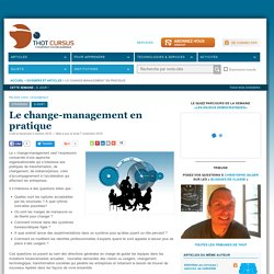 Le change-management en pratique