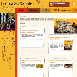 Le Chat du Rabbin de J. Sfar (une bande dessinée adaptée en film d'animation)