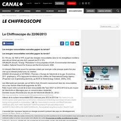 Le Chiffroscope du 22/06/2013
