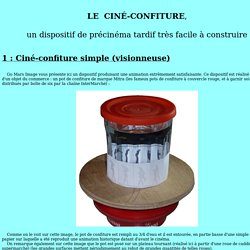 Le Ciné-confiture de Go Mars Image