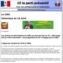 Le CIRC - CF le parti préventif