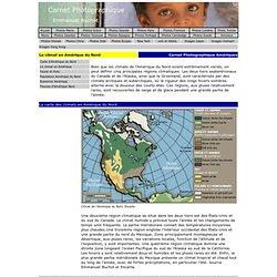 Le climat en Amérique du Nord